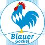Logo Blauer Gockel