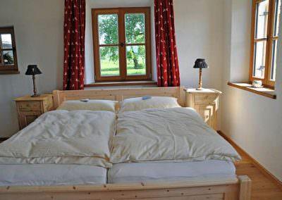 Zirbenschlafzimme