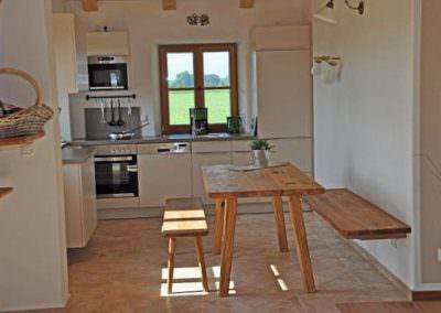 Wohnküche Fewo Amelie
