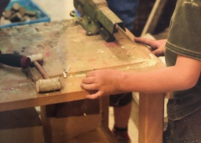 Basteln in der Holzwerkstatt